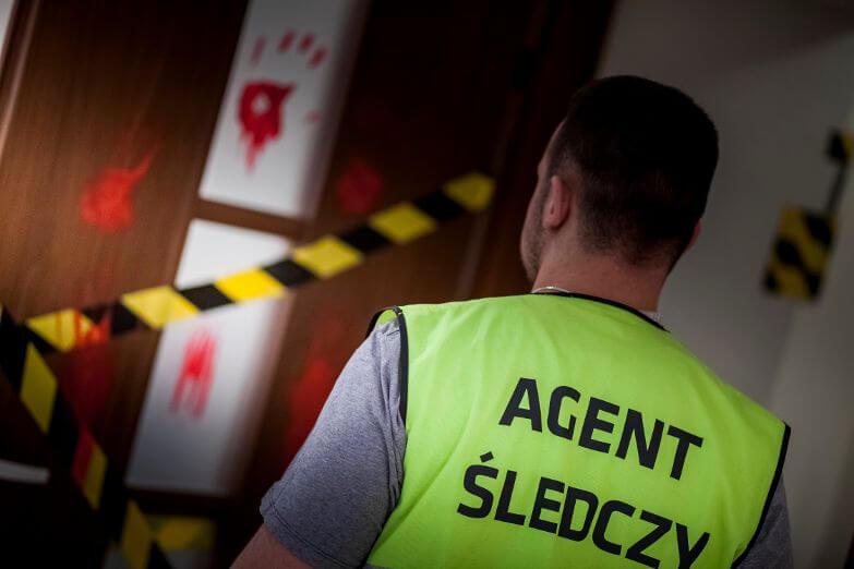 """Jednym ze scenariuszy Escape Room jest """"miejsce zbrodni""""/ zamknieciwpokoju.pl"""