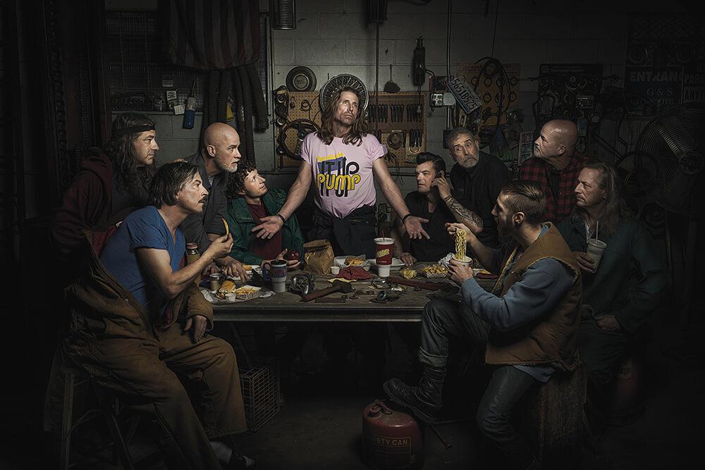 mechanicy w stylu renesansowych obrazów