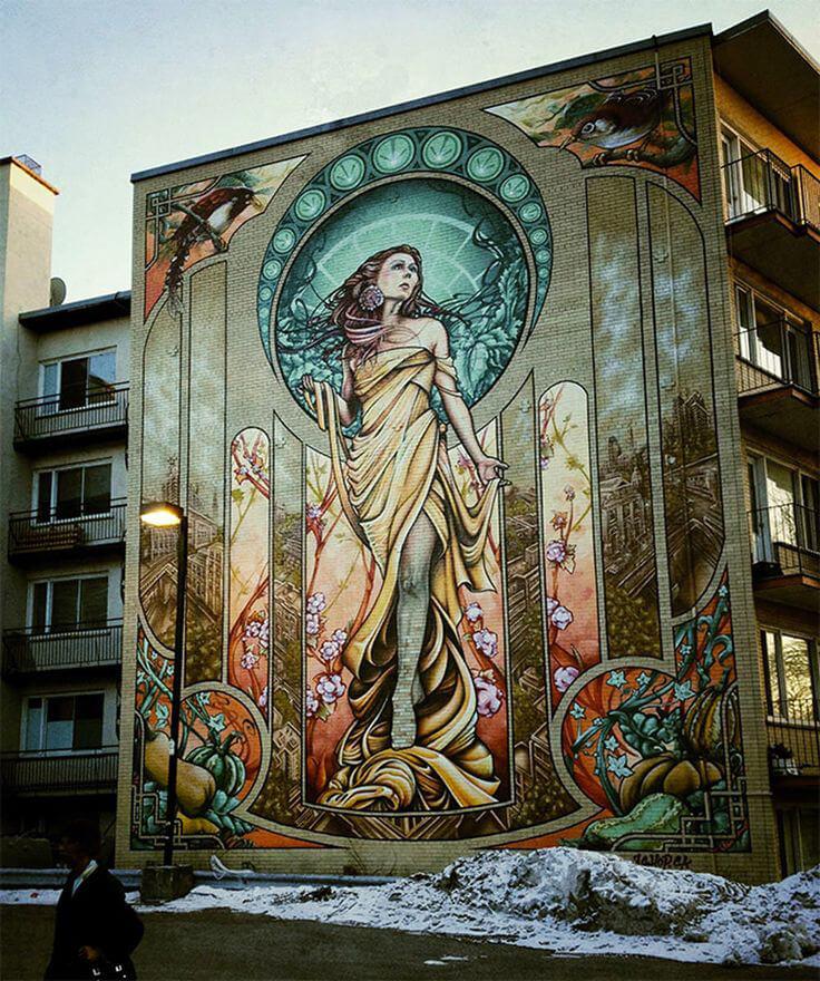 murale ze świata