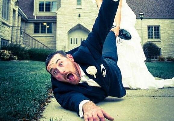 mężczyzna gotowy na ślub