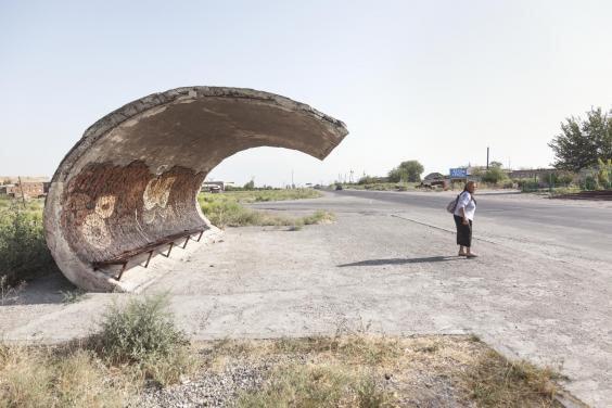 przystanki autobusowe w związku radzieckim