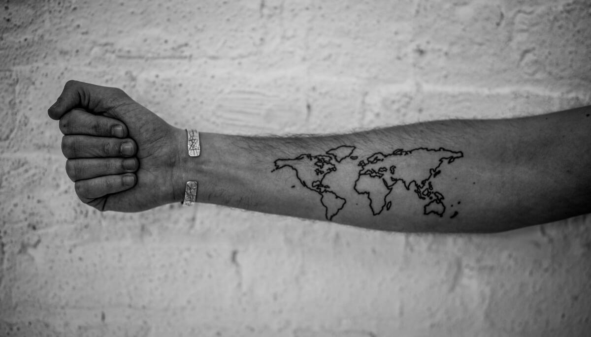 16 Przykładów Na Inspirujące Tatuaże Freaków Podróżników