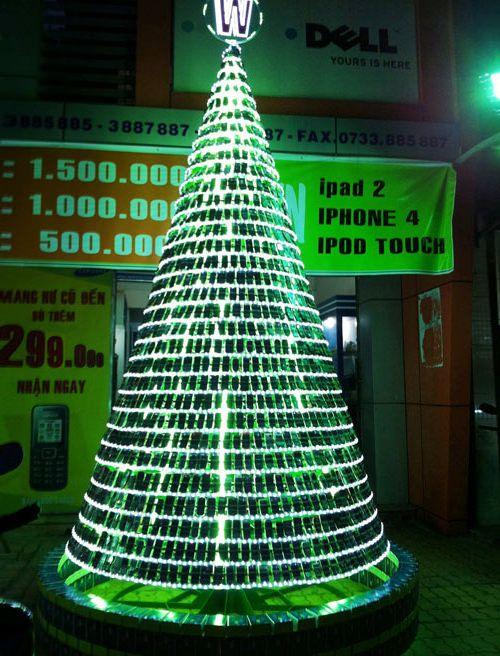 nietradycyjne choinki świąteczne
