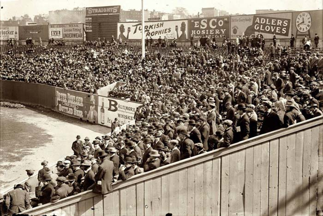 1912 - The first World Series Game in New York. - Imgur