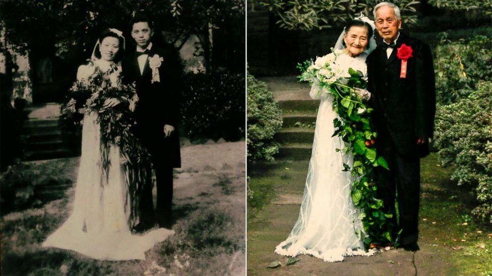odtworzyli zdjęcie ślubne
