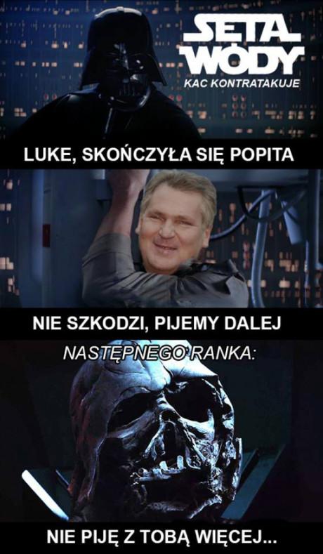 Luke nie ma popity