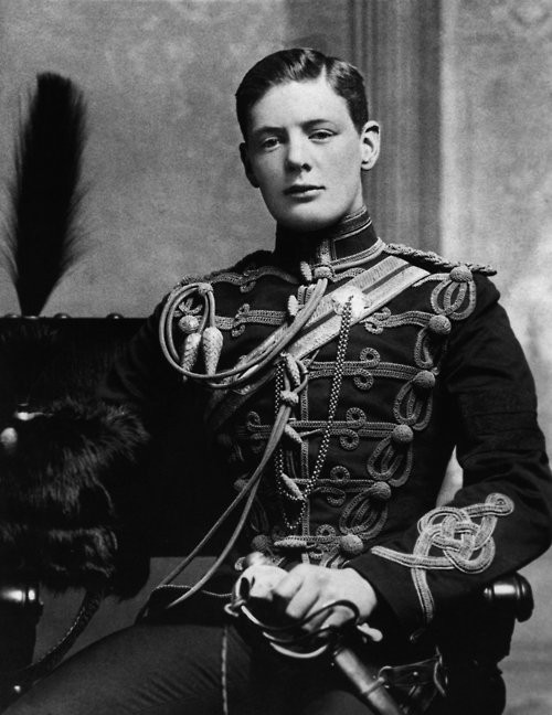 Young Winston Churchill, 1895 - Imgur