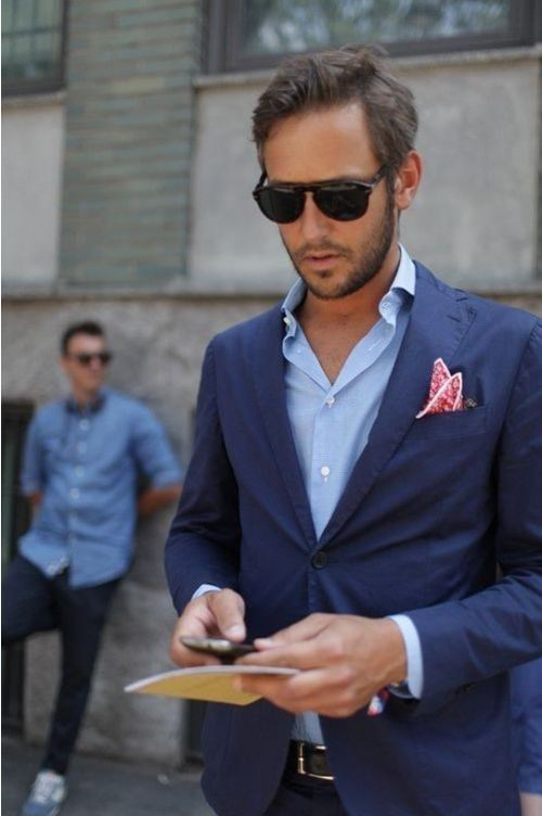 navy-blazer-and-blue-longsleeve-shirt-and-red-pocket-square