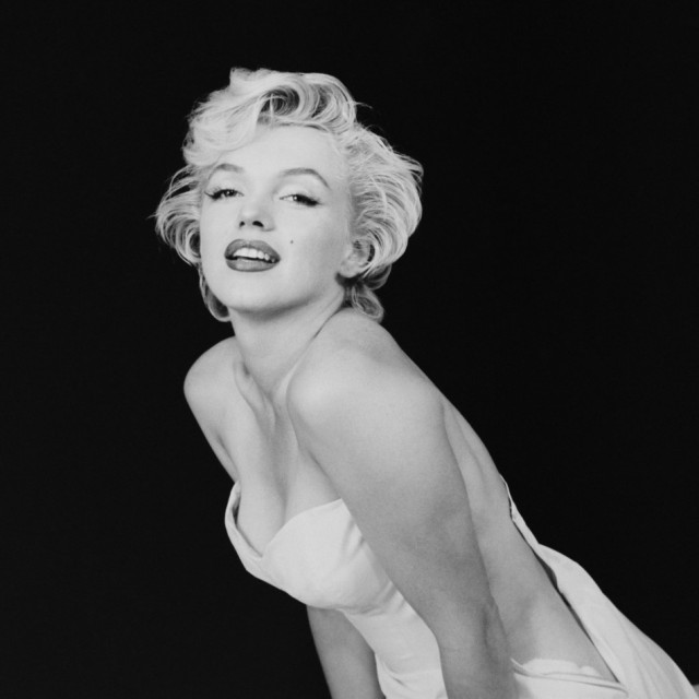 MILTON H GREENE/As a Seductive Ballerina, NY, 1954