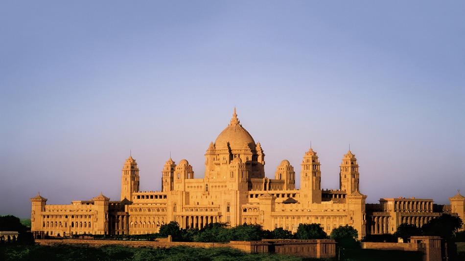 pałac w indiach