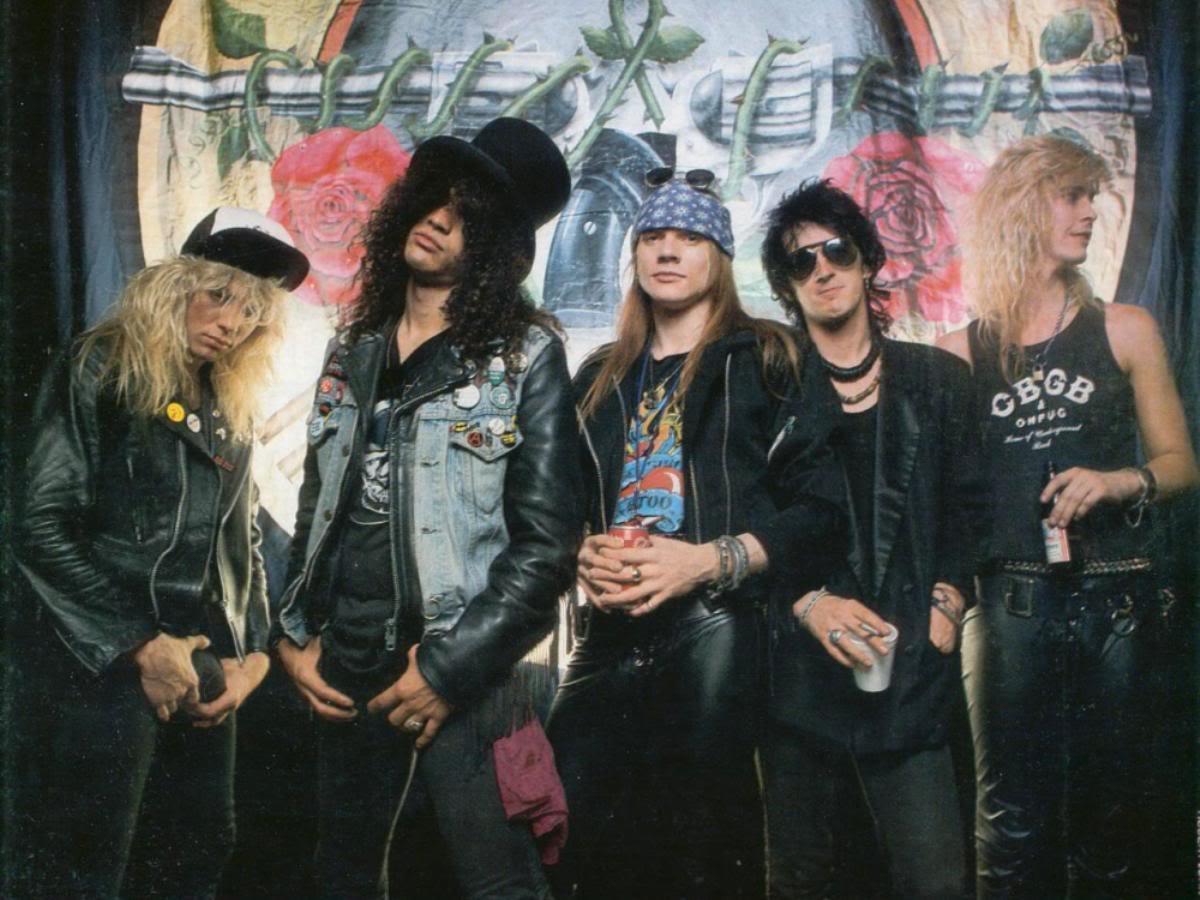 dokument o Guns N Roses
