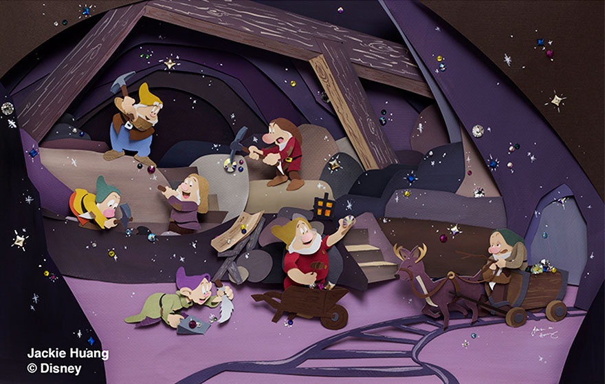 The Seven Dwarves, Snow White
