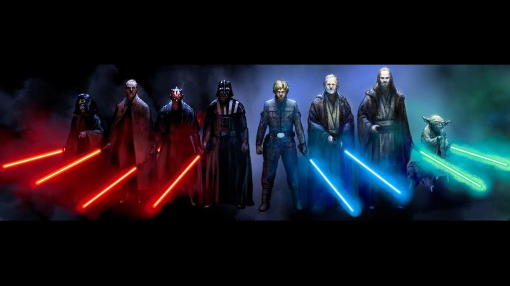 Star wars to dwie strony mocy!