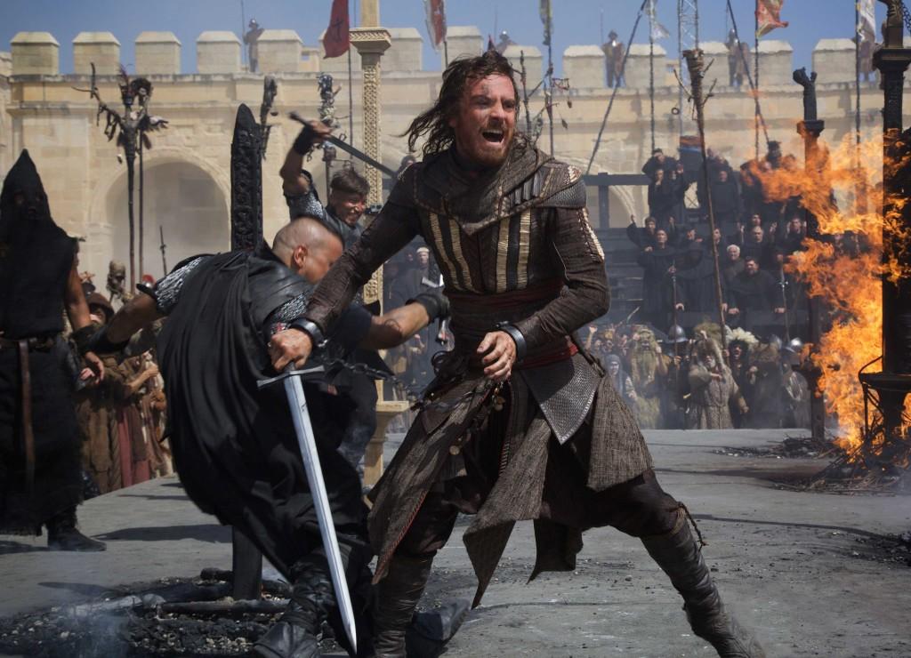 Zdjęcia Assassin's Creed -walka