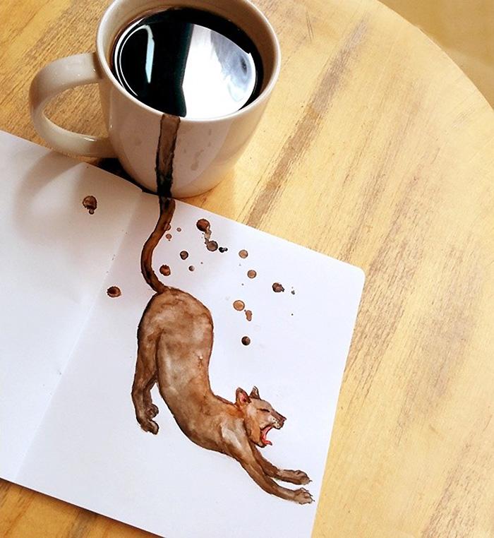 coffee-paintings-cats-elena-efremova-11