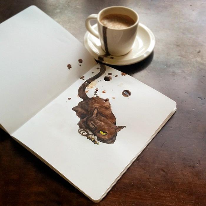 coffee-paintings-cats-elena-efremova-9
