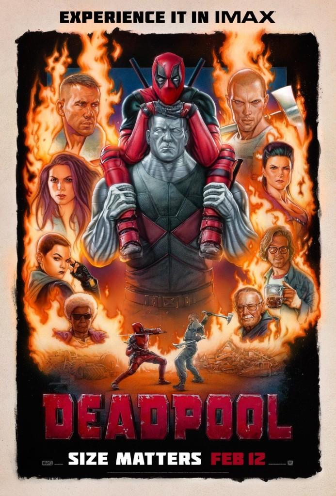 plakaty z deadpoola