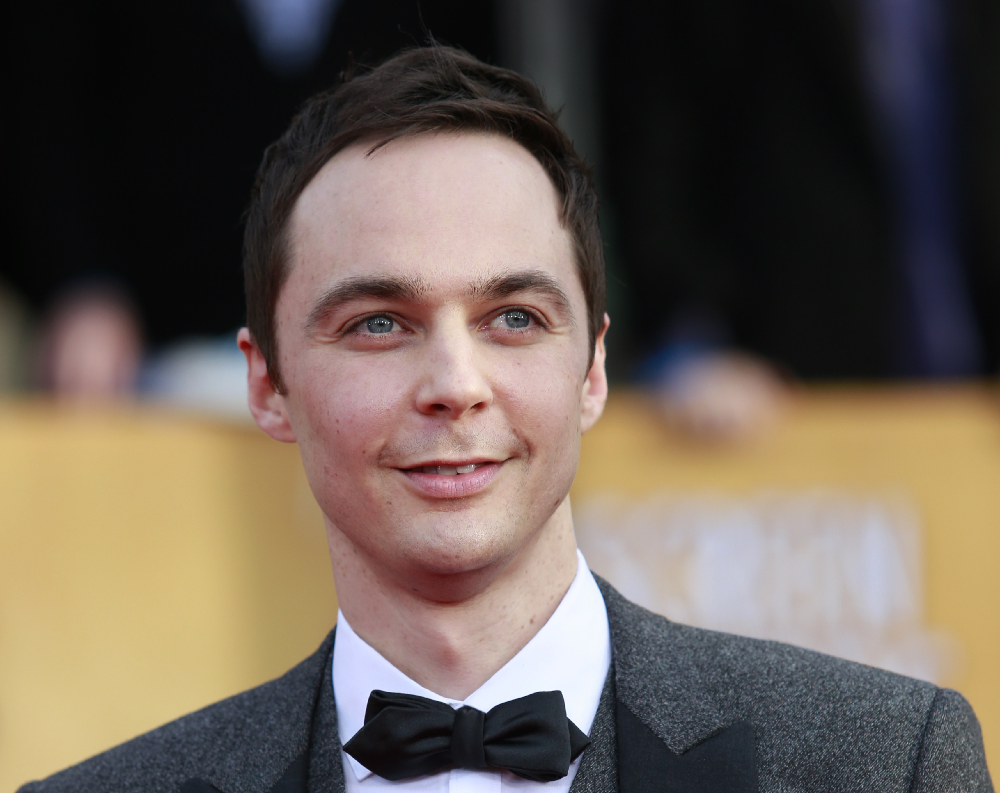 """Actor Jim Parsons of the TV comedy """"The Big Bang Theory"""" arrives at the 19th annual Screen Actors Guild Awards in Los Angeles, California January 27, 2013. REUTERS/Adrees Latif (UNITED STATES - Tags: ENTERTAINMENT) (SAGAWARDS-ARRIVALS) - RTR3D2AN"""