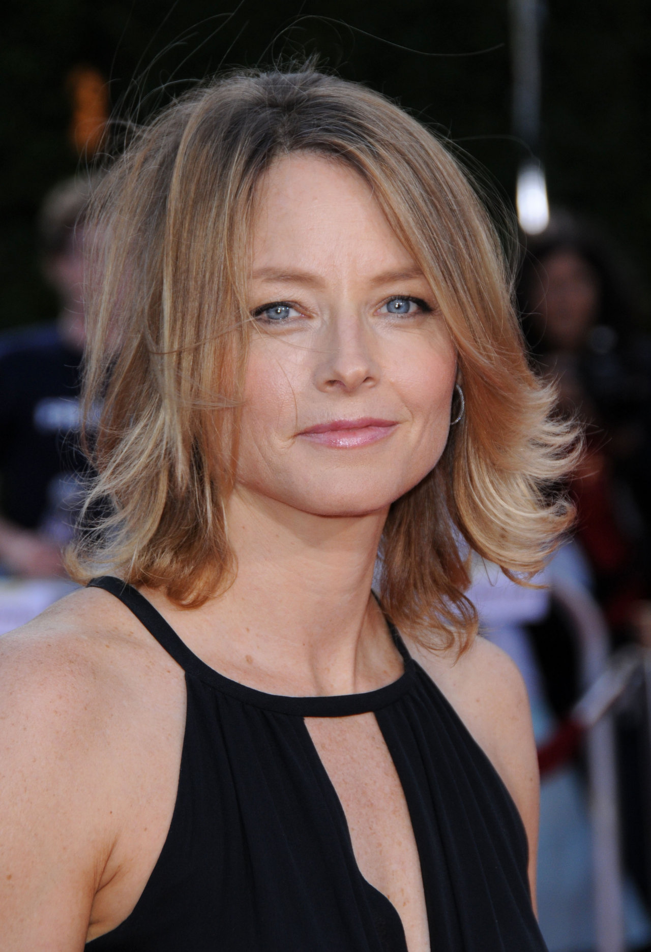 JODIE FOSTER @ the premiere of 'Tropic Thunder' held @ the Mann's Village theatre. August 11, 2008