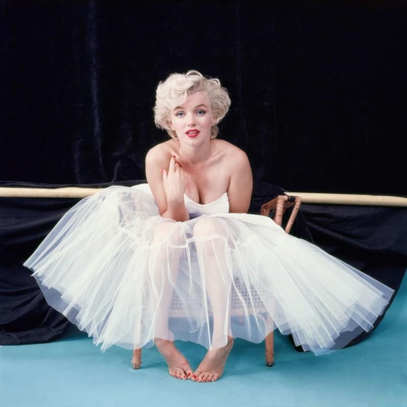 MILTON H GREENE/Ballerina Awaiting Her Cue, NY, 1954