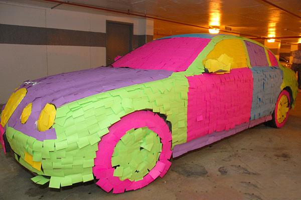 weird-unusual-cars-post-it-jaguar