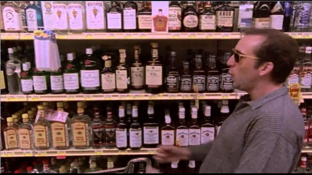 Cage nie stronił od alkoholu na planie