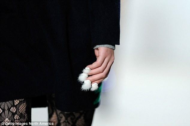 Futrzane paznokcie
