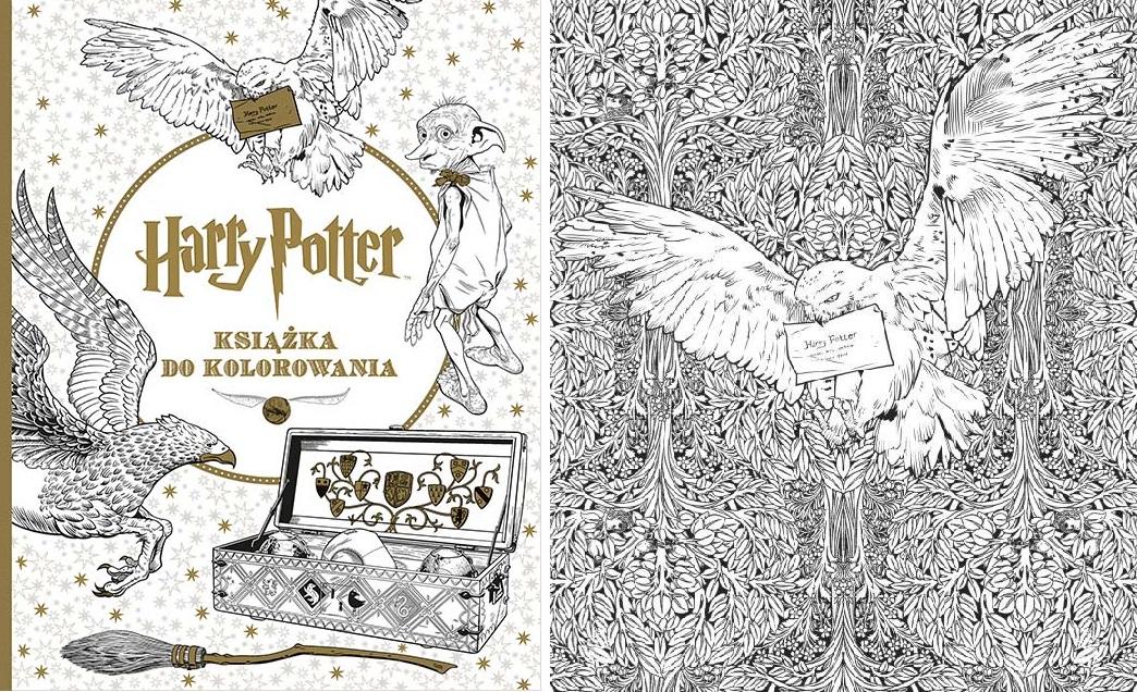 Antystresowe Kolorowanki Z Harrym Potterem Zachwycą Nawet Dorosłych