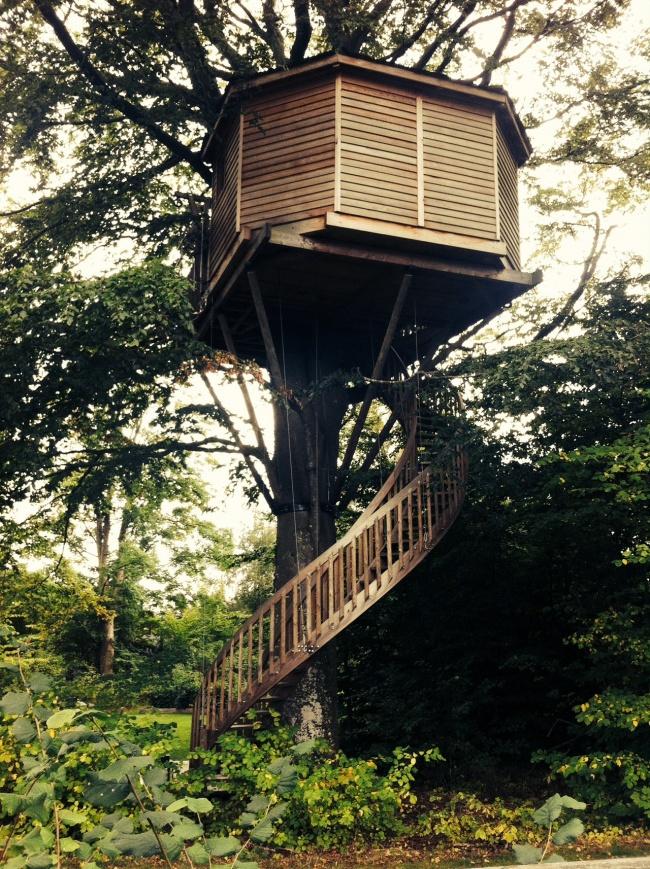 A tree house in Denmark.