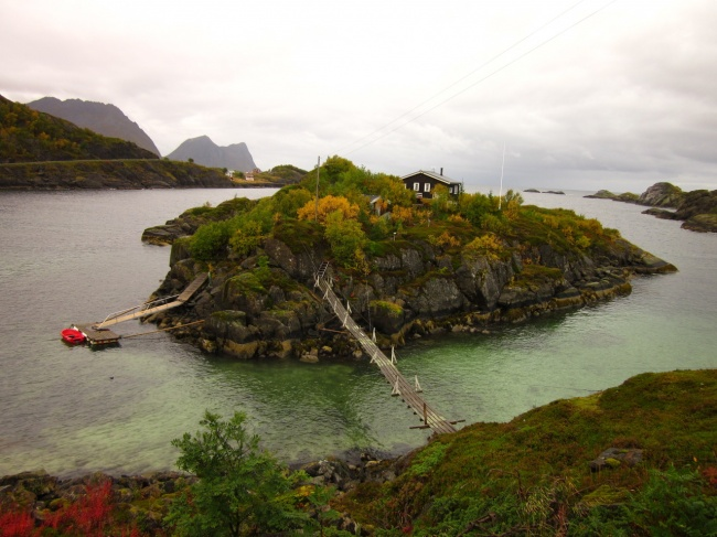 An island in the Arсtic Ocean, Norway.