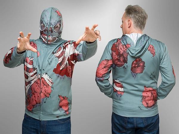 Bluza z kapturem Zombie