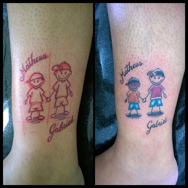 13 Pomysłów Na Tatuaż Który Odda Miłość Do Twojego Dziecka