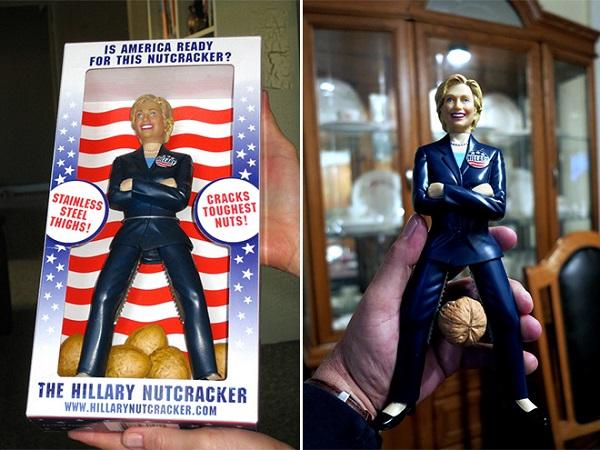 Hilary Clinton - Dziadek do orzechów