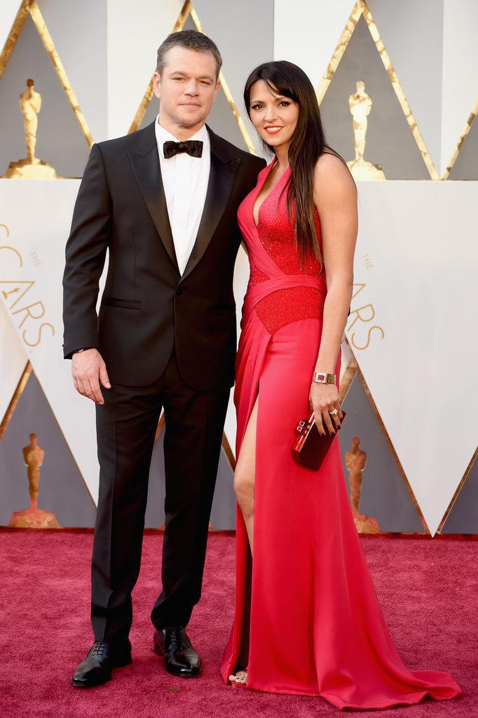 Matt Damon i Luciana Damon