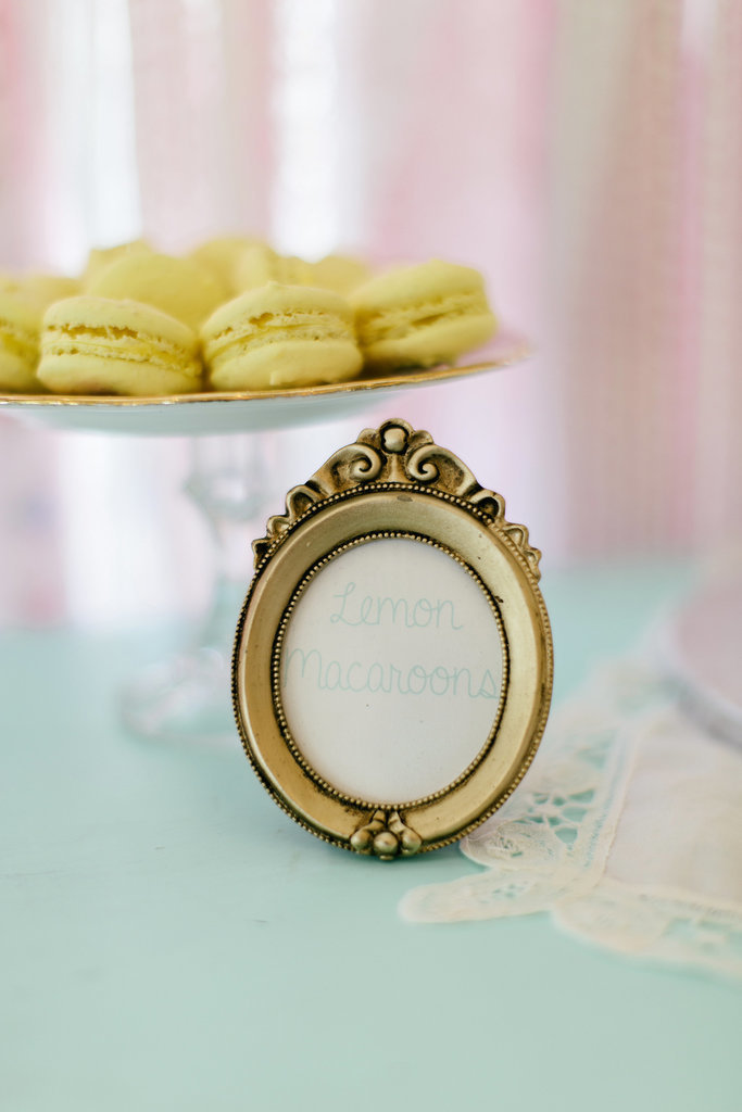 Pastel-colored macarons will be the star of any Spring wedding's dessert table.