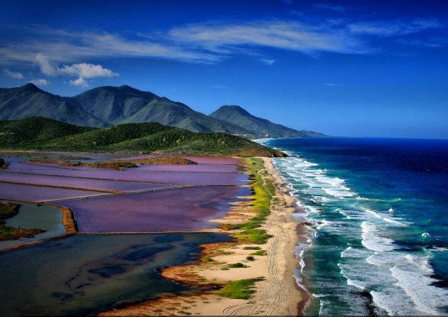 Resort Porlamar on Margarita Island, Venezuela.