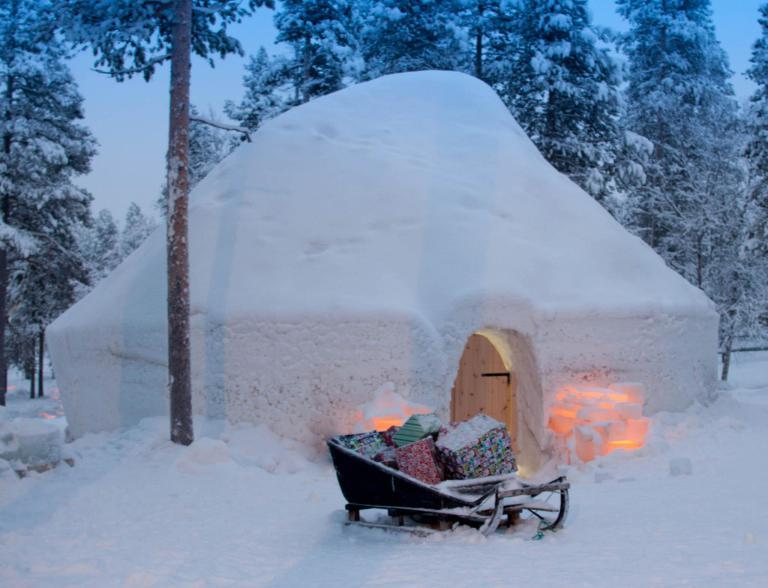 Santa's holiday igloo – Lapland Igloo Fantasia, Santa's Lapland