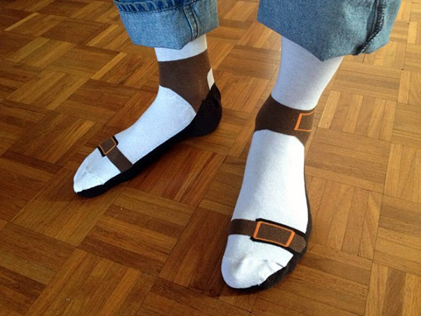 Skarpetki sandałowe