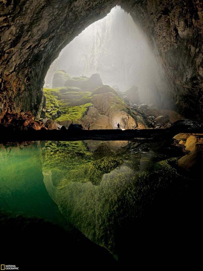 Son Doong Cave in Vietnam.