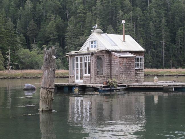 The Albion river house, California, USA.
