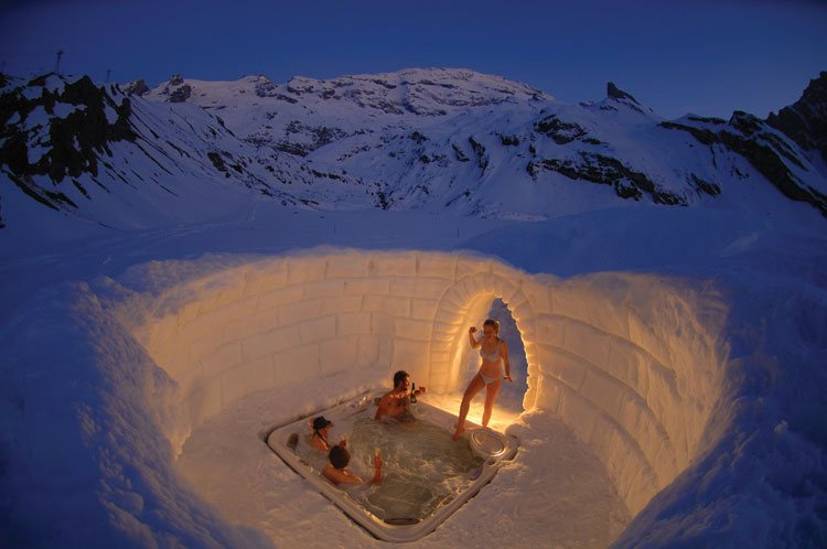The one with a hot-tub – Switzerland