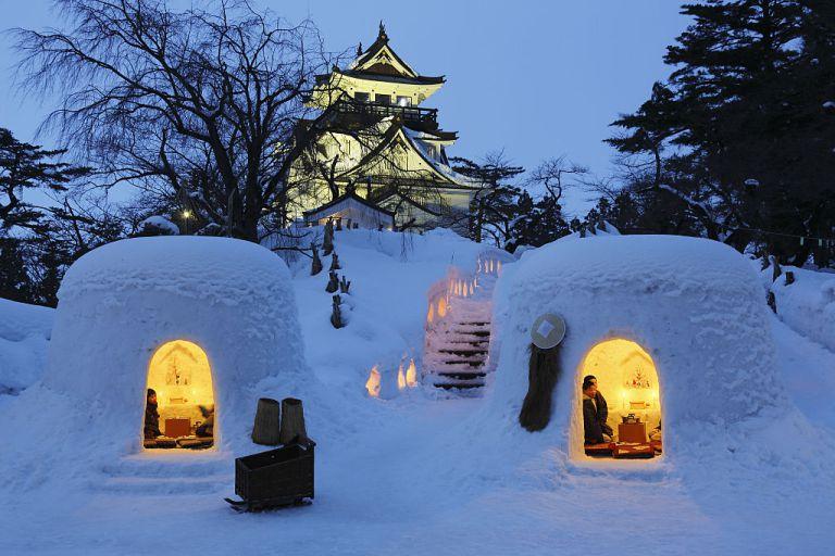 Japan, Tohoku Region, Akita Prefecture, Yokote, View of Kamakura Castle. (Photo by: JTB/UIG via Getty Images) (Photo by: JTB Photo/UIG via Getty Images)
