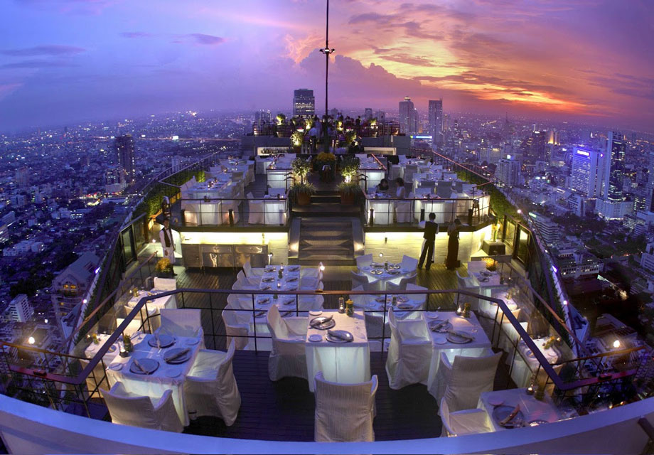 VERTIGO BAR BANYAN TREE BANGKOK