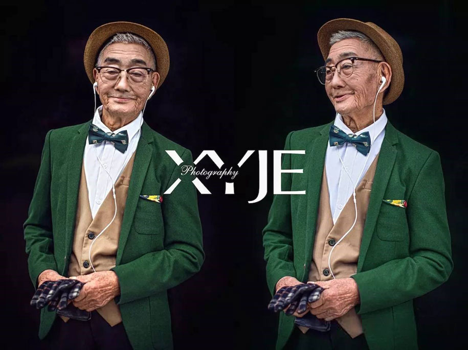 grandfather-farmer-fashion-transformation-grandson-xiaoyejiexi-photography-6
