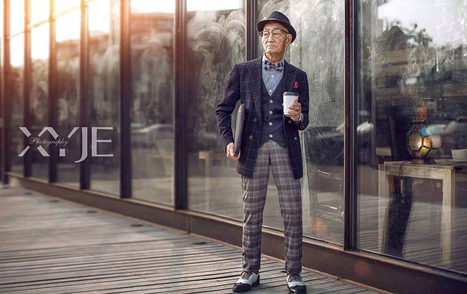 grandfather-farmer-fashion-transformation-grandson-xiaoyejiexi-photography-9