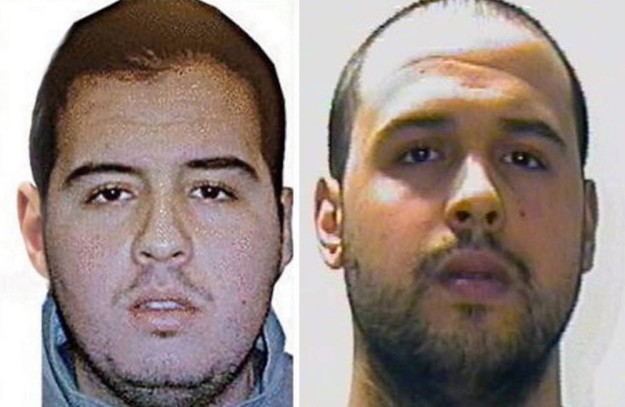 epa05227579 A composite picture made of handout pictures made available by Interpol on 23 March 2016 of Brahim El Bakraoui (L) Khalid El Bakraoui at an unspecified location. Belgian broadcaster RTBF reported on 23 March 2016 that two brothers Khalid and Brahim el-Bakraoui have been identified by Belgian police as the suspected suicide bombers of the Brussels attacks. One of them, Khalid had rented an apartment using a false name in the Brussels neighborhood of Forest, where police killed a gunman in a shootout last week. The attacks at the main airport and in the metro in Brussels killed 34 people and wounded nearly 200 on Tuesday.  EPA/INTERPOL / HANDOUT BEST QUALITY AVAILABLE HANDOUT EDITORIAL USE ONLY/NO SALES HANDOUT EDITORIAL USE ONLY/NO SALES  Dostawca: PAP/EPA.