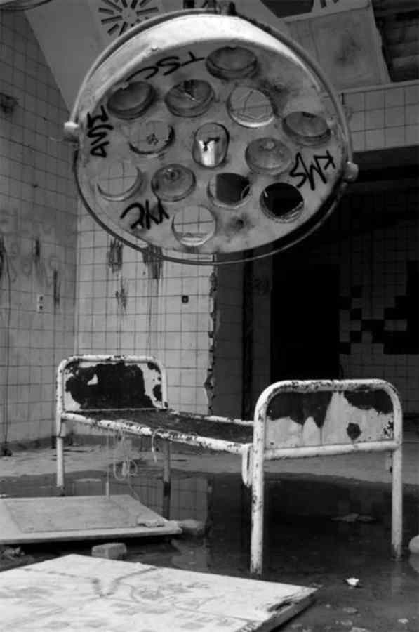 ABANDONED SANATORIUM. BERLIN, GERMANY