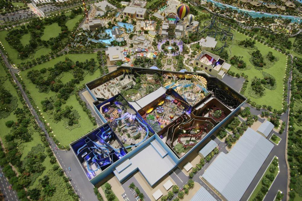 projekt parku rozrywki