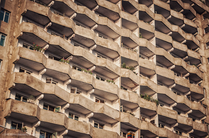 Brutalist architecture of Pyongyang