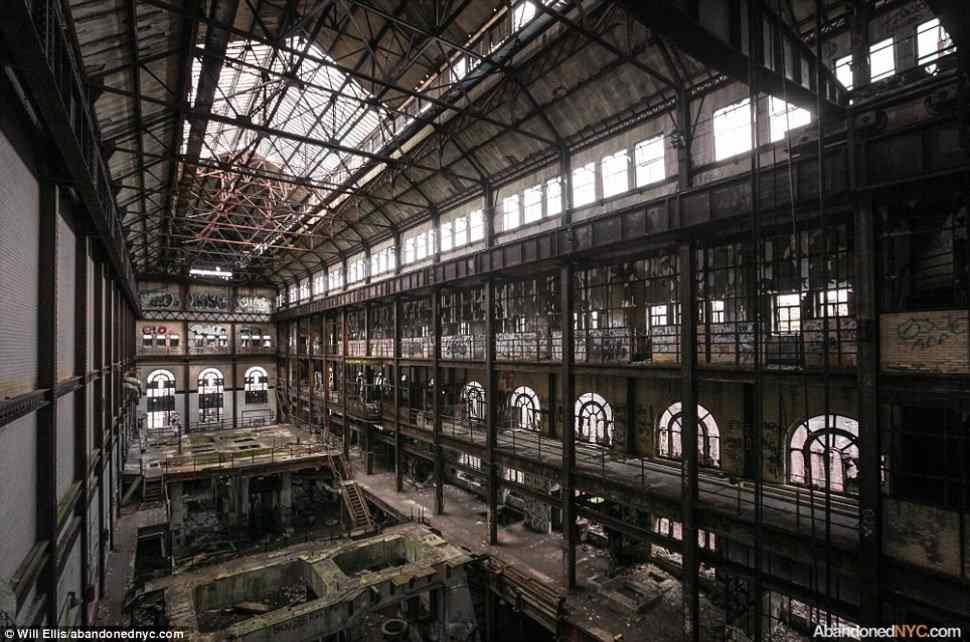 GLENWOOD POWER STATION, NEW YORK
